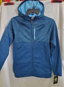 C9 Champion Boy/'s L 12//14 Victory Fleece Full Zip Hoodie Sweatshirt Jacket Blue