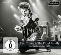 Paul Young And The Royal Family - Live At Rockpalast 1985 (NEW CD+DVD)