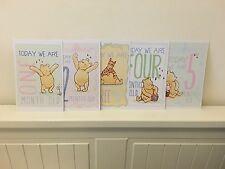 Milestone Cards For Twins & Multiples Disney Cards, Baby Shower Gift Keepsake