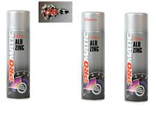 Promatic Imprimación rica Zinc Aerosol puede pintar anticorrosión 500 Ml ZR500 X3