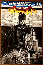 BATMAN #1 EXCLUSIVE SKETCH B&W TONY HARRIS ZAPP VARIANT DC - VOL 3  - NM