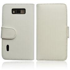 LG Optimus L7 P700 Wallet Tasche Case Schutz Hülle Etui Book Cover YouCase weiß
