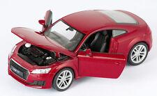 BLITZ VERSAND Audi TT Coupe 2014 rot met. / red Welly Modell Auto 1:24 NEU & OVP