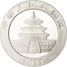 [#413022] CHINA, PEOPLE'S REPUBLIC, 10 Yüan, 2011, FDC, Argent, KM:2034