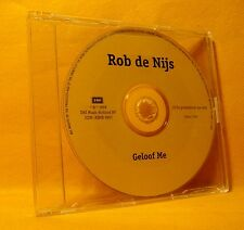 MAXI PROMO Single CD Rob de Nijs Geloof Me 1TR 1998 Dutch Pop Rock