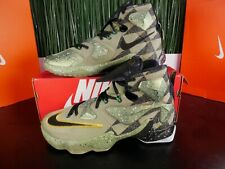 Nike LeBron 13 XIII All Star Green Camo Mens Basketball Shoes 835659-309 Sz 9.5