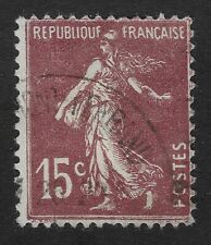 France 1925 - 1926,Sower 15c,Scott # 165,USED (BX)
