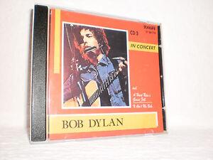 "CD BOB DYLAN: ""In Concert"" (CD 3) Live 1964 Philharmonic Hall New York /Starlife"