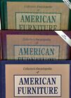 3-Volume Book Set - Antique American Furniture - Types Periods Styles + Values