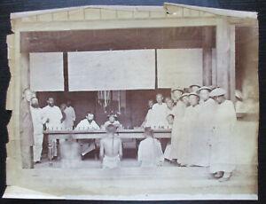 China Photograph 1900 Crime & Punishment Scene