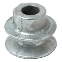 "Chicago Die Cast 150A 1.5"" x 1/2"" Die-Cast V-Grooved Pulley"