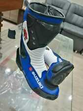Suzuki Motorcycle Boots Motorbike leather Shoes