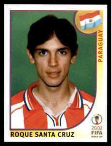 Panini World Cup 2002 - Roque Santa Cruz Paraguay No. 148
