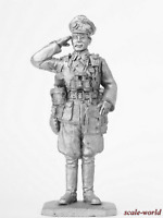 Tin soldier, figure. Officer, Germany, 1941. 54 mm