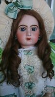 """Antique French Bebe Jumeau Child Doll, 1907 size 11, 24"""", Stunning belle"""