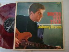 RED VINYL / JOHNNY RIVERS ROCKS THE FOLK / JAPAN