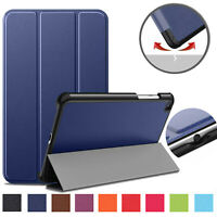 Slim Case For Samsung Tab A 8.0 2019 SM-T290/ T295 Magnetic Leather Flip Stand