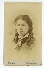 19th Century Fashion - 19th Century Carte-de-visite Photograph - Lewiston, ME