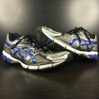 Asics GT-1000 T2L1N Men's Size 8 Gray & Blue Running Training Jogging Shoes