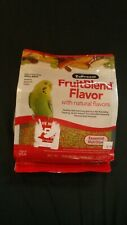 ZuPreem Fruit Blend Flavor Bird Food For Small Birds Parakeets Etc 2 lbs #O