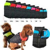 Wasserfest Haustier Kleidung Hundejacke Winter Mantel Regenmantel Weste Hund