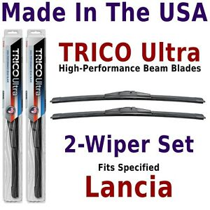 Buy American: TRICO Ultra 2-Wiper Blade Set fits listed Lancia: 13-15-15