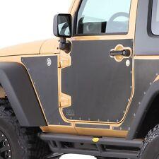 Smittybilt MAG Armor Skins 07-16 Jeep Wrangler JK 2 Door 76992 Black
