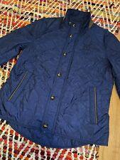 Women Ralph Lauren Club Golf Barn  Equestrian Crest Quilted Jacket M