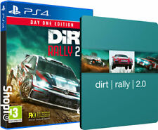 DiRT Rally 2.0 Day One Edition + Steel Book PS4