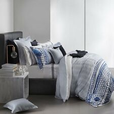 ROYAL DOULTON Pacific Navy Blue  King Size Doona Duvet Quilt Cover set BRAND NEW
