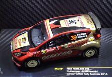 Ford Fiesta RRC #36 1st WRC2 Rally Australia 2014 1/43 IXO RAM591