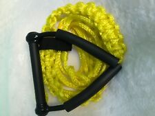 Wakesurf Rope and Handle by Tantrum Tow Ropes Yellow