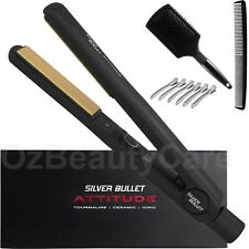 Silver Bullet Attitude Hair Straightener - Black