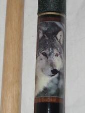 "DMI Sports Inc. Billiard Pool / Cue Wolf Theme Design  58"""