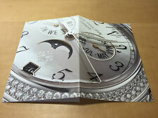 Booklet PATEK PHILIPPE New Model 2006 - Annual Calendar Ref. 4937