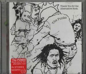 Punks - Thank You For The Alternative Rock (CD 2005)   Kill Rock Stars Slim Moon