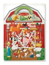 Melissa & Doug On The Farm Puffy Reusable Stickers Play Set