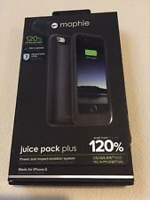 mophie Juice Pack Plus 120% Extra Battery for iPhone 6/6s - Black