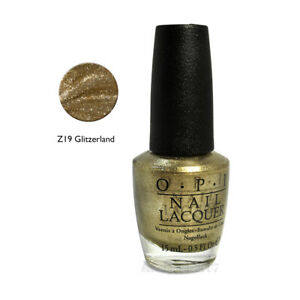 OPI Nail Polish Z19 Glitzerland 0.5oz