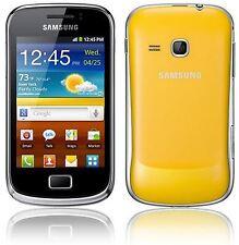 SAMSUNG Galaxy Mini 2 gt-s6500 GIALLO - (Sbloccato) Grado buona condizione GARANZIA