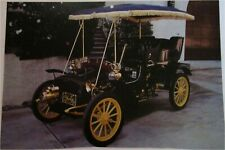 1900 Yale Rear Entrance Tonneau car print (black, blue top)