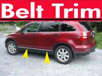 HonCR-V CRV CHROME SIDE BELT TRIM DOOR MOLDING 2007 2008 2009 2010 2011