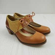 Wolverine 1000 Mile Shoes Samantha Pleet Women's Size 6B Leather Brown Camel