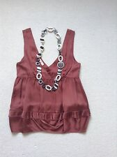 Super Cute Marni Women's Top In Brown Size 8/10