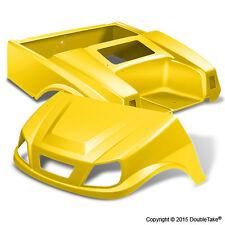 Club Car DS Spartan Golf Cart Yellow Body Set & Light Kit Color Through Body