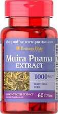 Muira Puama 1000 Mg X 60 Cápsulas Puritan's Pride ** increíble Precio **
