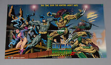 GIANT 1994 Batman vs Predator DC Dark Horse Comics 43 by 26 promo poster: 1990's