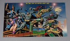 GIANT 1994 Batman vs Predator DC Dark Horse Comics 43 by 26 promo poster:1990's