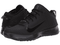 NEW Nike Force Zoom Trout 5 Baseball Turf Shoes Triple Black AH3374-002 Men's