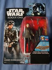 "Jyn Erso Eadu / Star Wars Rogue One / 3.75"" Action Figure / Hasbro / 2016"